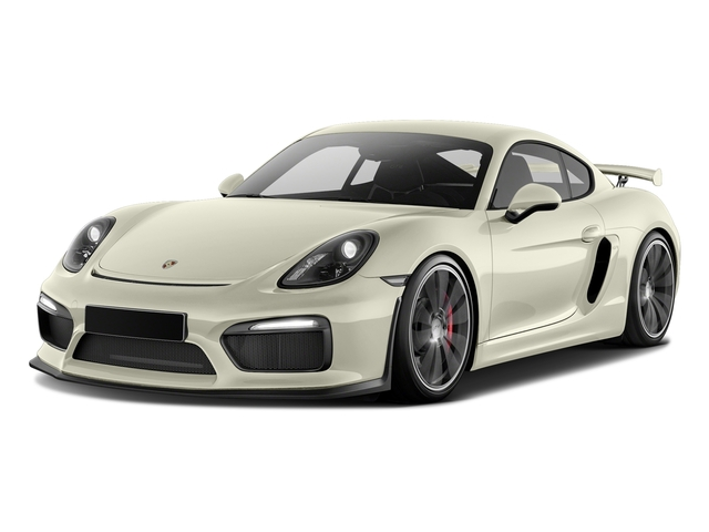 Carrara White Metallic 2016 Porsche Cayman Pictures Cayman Coupe 2D GT4 H6 photos front view
