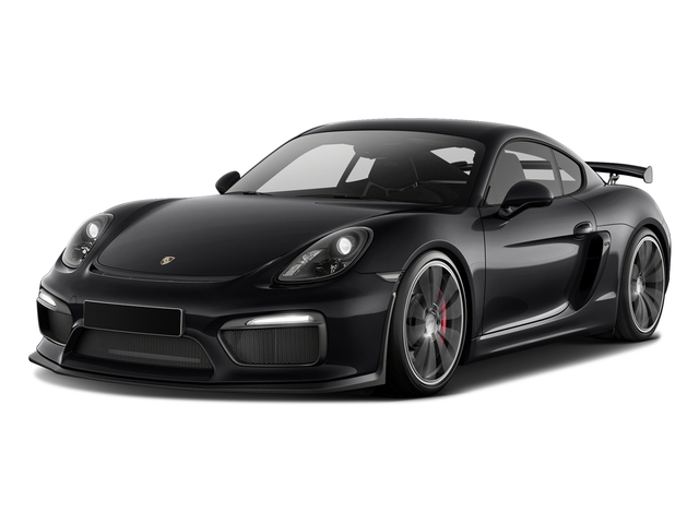 Black 2016 Porsche Cayman Pictures Cayman Coupe 2D GT4 H6 photos front view
