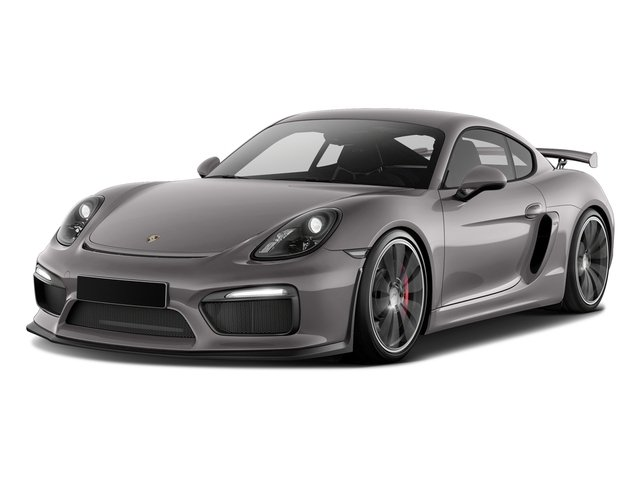 Agate Gray Metallic 2016 Porsche Cayman Pictures Cayman Coupe 2D GT4 H6 photos front view