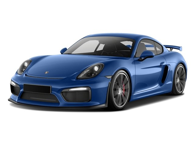 Sapphire Blue Metallic 2016 Porsche Cayman Pictures Cayman Coupe 2D GT4 H6 photos front view