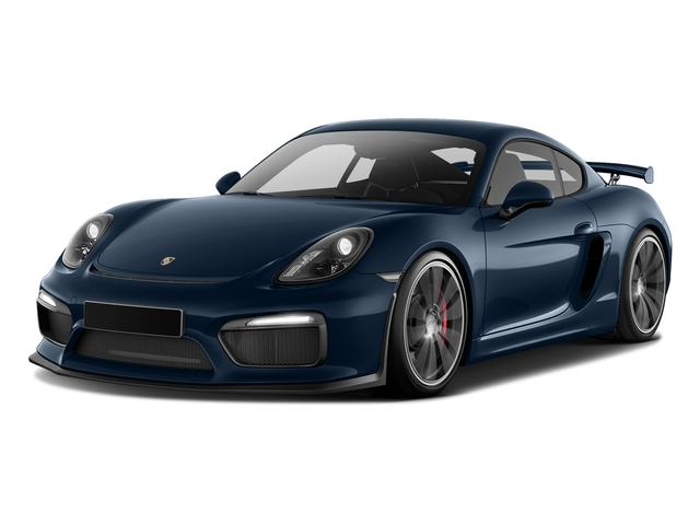 Dark Blue Metallic 2016 Porsche Cayman Pictures Cayman Coupe 2D GT4 H6 photos front view