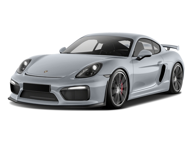 Rhodium Silver Metallic 2016 Porsche Cayman Pictures Cayman Coupe 2D GT4 H6 photos front view