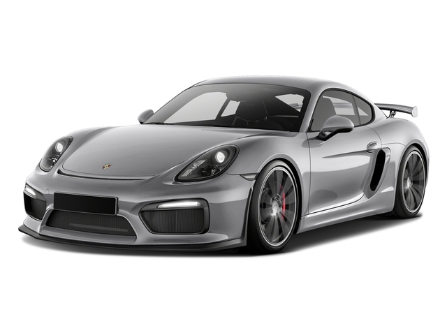 GT Silver Metallic 2016 Porsche Cayman Pictures Cayman Coupe 2D GT4 H6 photos front view
