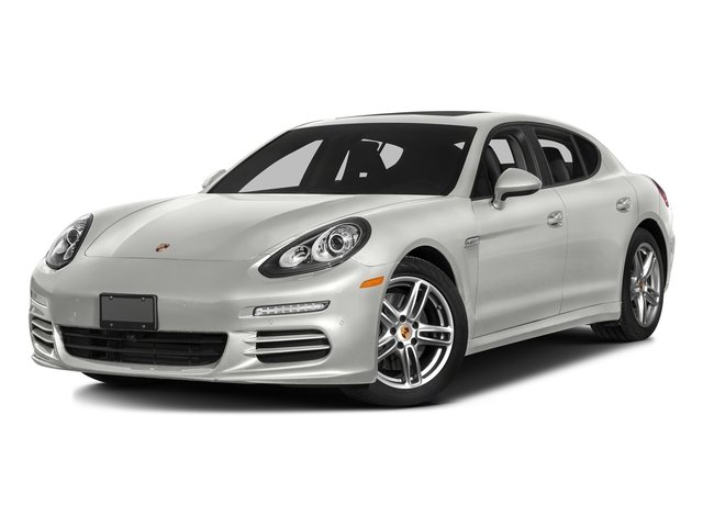 White 2016 Porsche Panamera Pictures Panamera Hatchback 4D Exclusive AWD V8 Turbo photos front view