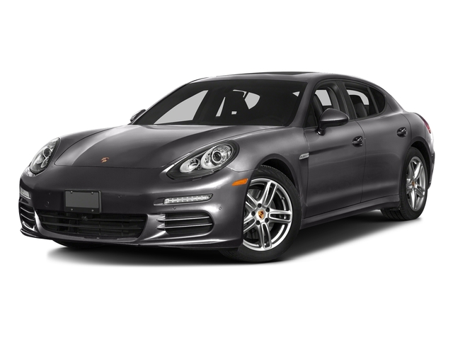 Carbon Gray Metallic 2016 Porsche Panamera Pictures Panamera Hatchback 4D GTS AWD V8 photos front view