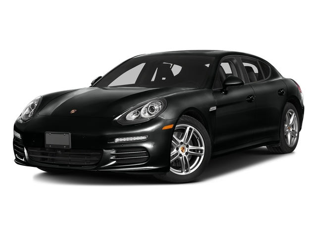 Jet Black Metallic 2016 Porsche Panamera Pictures Panamera Hatchback 4D S Exec AWD V8 Turbo photos front view