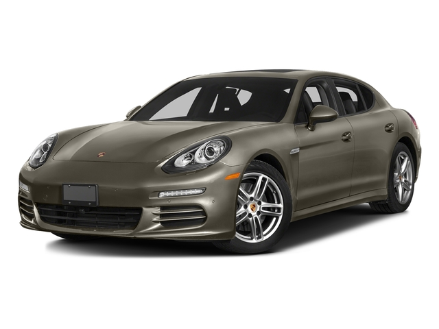 Palladium Metallic 2016 Porsche Panamera Pictures Panamera Hatchback 4D Exclusive AWD V8 Turbo photos front view