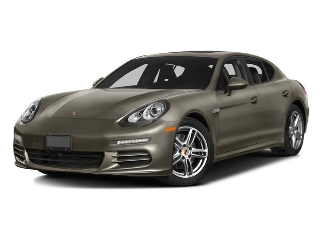 Palladium Metallic 2016 Porsche Panamera Pictures Panamera Hatchback 4D 4 AWD H6 photos front view