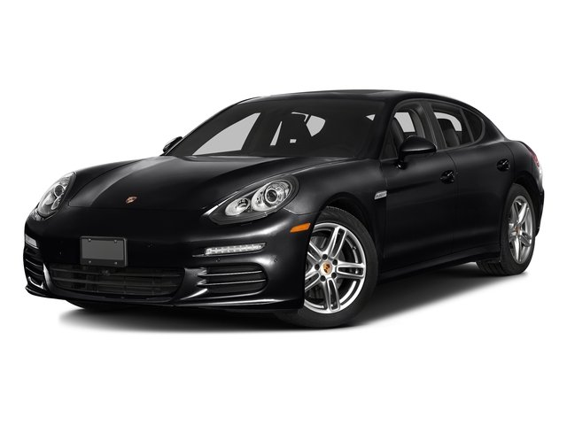 Black 2016 Porsche Panamera Pictures Panamera Hatchback 4D Exclusive AWD V8 Turbo photos front view