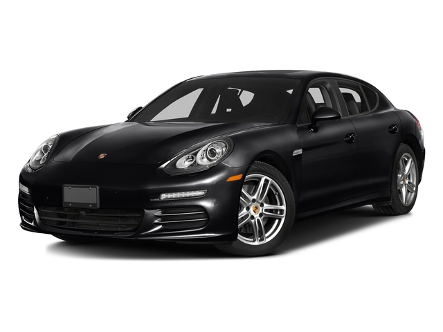 Black 2016 Porsche Panamera Pictures Panamera Hatchback 4D GTS AWD V8 photos front view