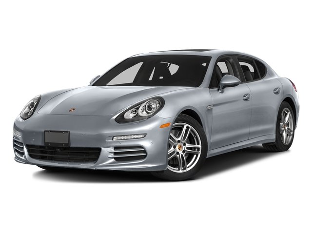 Rhodium Silver Metallic 2016 Porsche Panamera Pictures Panamera Hatchback 4D 4S Exec AWD V6 Turbo photos front view