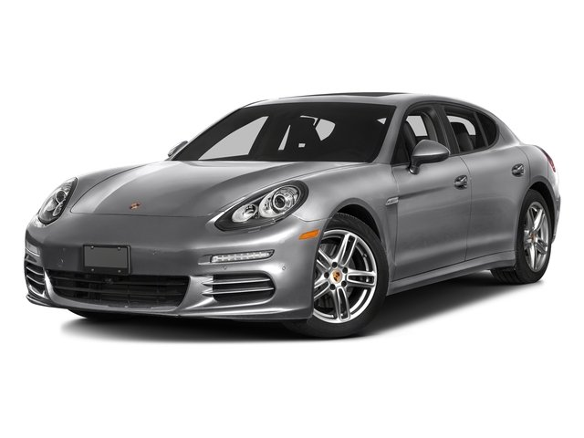 GT Silver Metallic 2016 Porsche Panamera Pictures Panamera Hatchback 4D S Exec AWD V8 Turbo photos front view