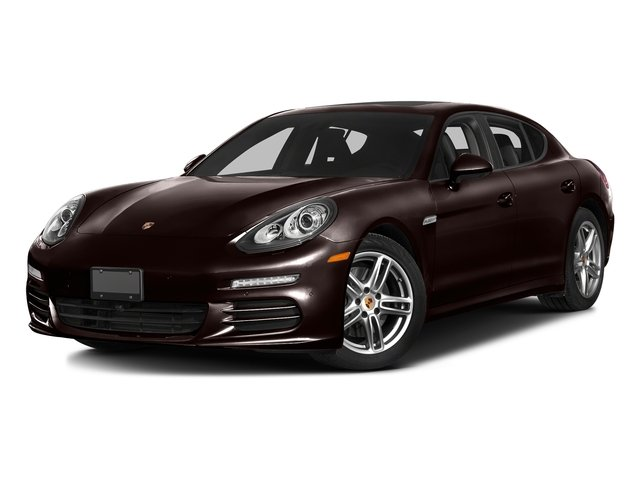 Mahogany Metallic 2016 Porsche Panamera Pictures Panamera Hatchback 4D Exclusive AWD V8 Turbo photos front view
