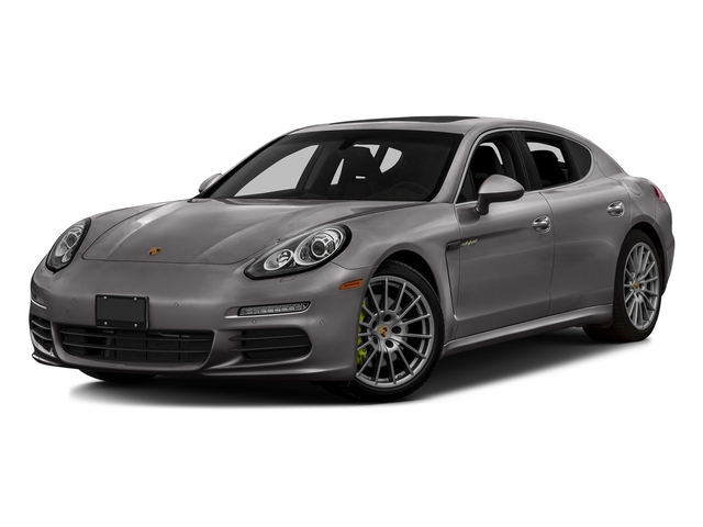 Agate Gray Metallic 2016 Porsche Panamera Pictures Panamera Hatchback 4D S e-Hybrid V6 photos front view