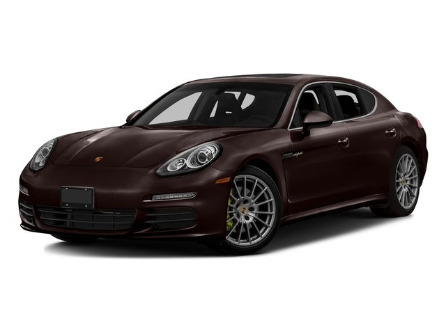 Mahogany Metallic 2016 Porsche Panamera Pictures Panamera Hatchback 4D S e-Hybrid V6 photos front view