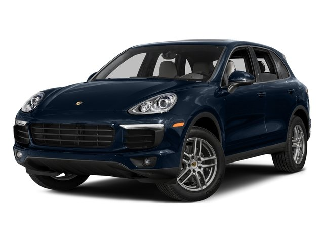 Moonlight Blue Metallic 2016 Porsche Cayenne Pictures Cayenne Utility 4D AWD V6 T-Diesel photos front view
