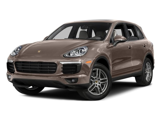 Umber Metallic 2016 Porsche Cayenne Pictures Cayenne Utility 4D AWD V6 T-Diesel photos front view