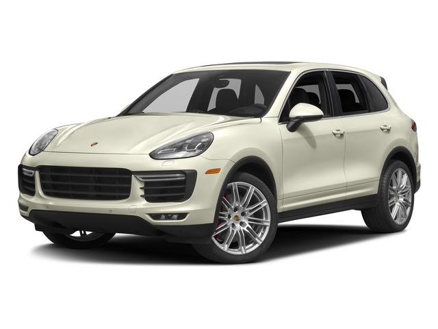 Carrara White Metallic 2016 Porsche Cayenne Pictures Cayenne Utility 4D S AWD V8 Turbo photos front view