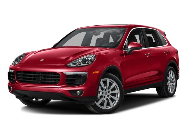 Carmine Red 2016 Porsche Cayenne Pictures Cayenne Utility 4D S AWD V6 Turbo photos front view