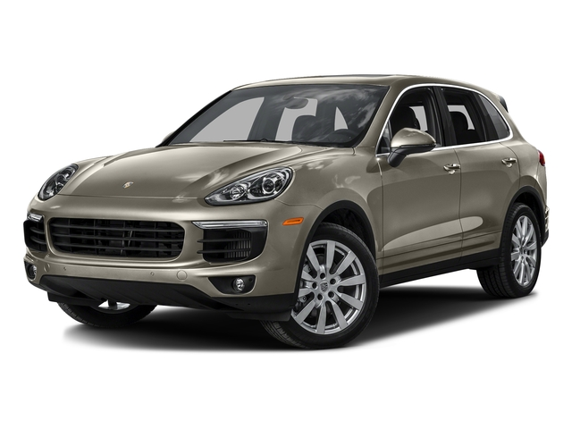 Palladium Metallic 2016 Porsche Cayenne Pictures Cayenne Utility 4D S AWD V6 Turbo photos front view
