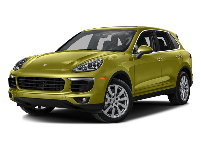 Peridot Metallic 2016 Porsche Cayenne Pictures Cayenne Utility 4D S AWD V6 Turbo photos front view
