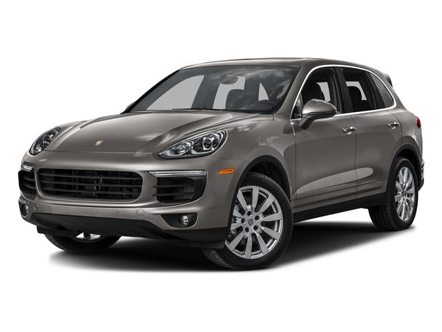 Meteor Gray Metallic 2016 Porsche Cayenne Pictures Cayenne Utility 4D S AWD V6 Turbo photos front view