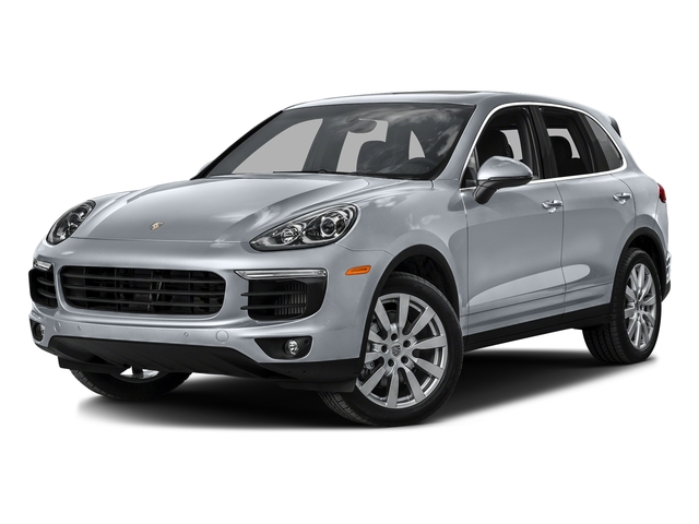 Rhodium Silver Metallic 2016 Porsche Cayenne Pictures Cayenne Utility 4D S AWD V6 Turbo photos front view