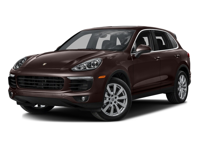 Mahogany Metallic 2016 Porsche Cayenne Pictures Cayenne Utility 4D S AWD V6 Turbo photos front view