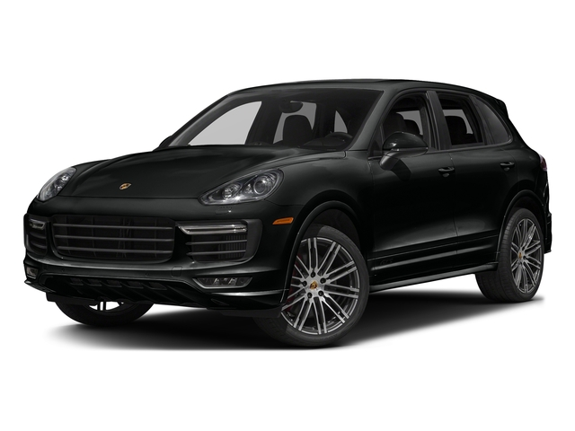 Jet Black Metallic 2016 Porsche Cayenne Pictures Cayenne Utility 4D GTS AWD V6 Turbo photos front view