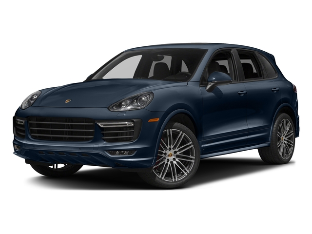 Moonlight Blue Metallic 2016 Porsche Cayenne Pictures Cayenne Utility 4D GTS AWD V6 Turbo photos front view