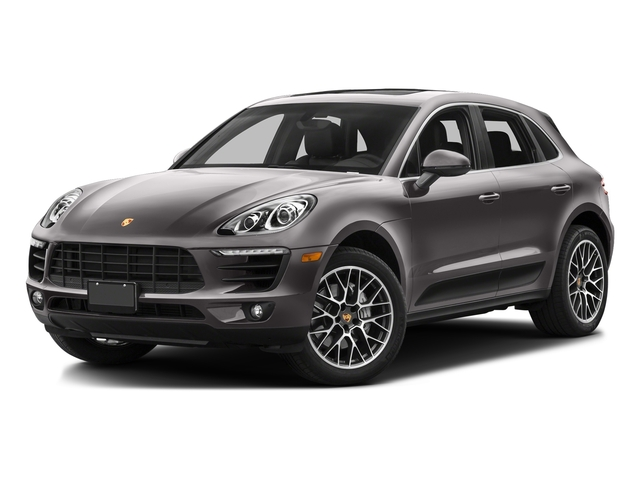 Agate Gray Metallic 2016 Porsche Macan Pictures Macan Utility 4D AWD V6 Turbo photos front view