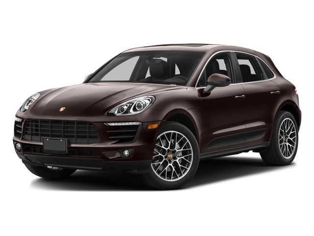 Mahogany Metallic 2016 Porsche Macan Pictures Macan Utility 4D AWD V6 Turbo photos front view