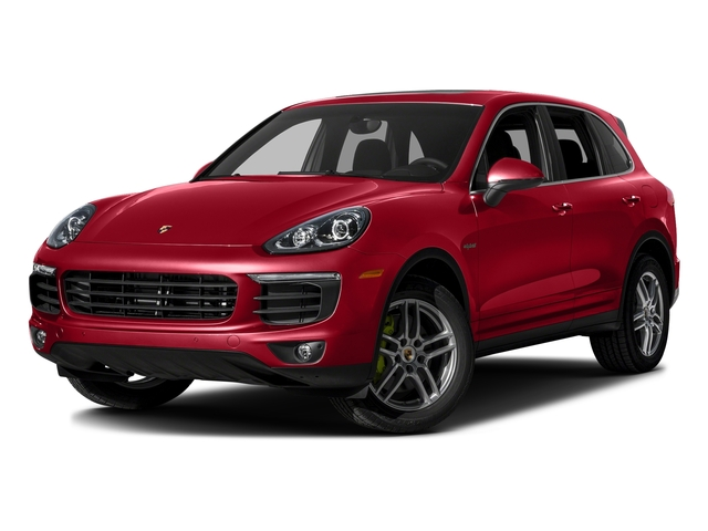 Carmine Red 2016 Porsche Cayenne Pictures Cayenne Utility 4D S V6 e-Hybrid AWD photos front view