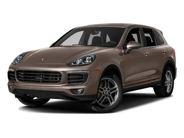 Umber Metallic 2016 Porsche Cayenne Pictures Cayenne Utility 4D S V6 e-Hybrid AWD photos front view