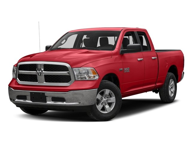 Bright Red 2016 Ram Truck 1500 Pictures 1500 Quad Cab SLT 4WD photos front view