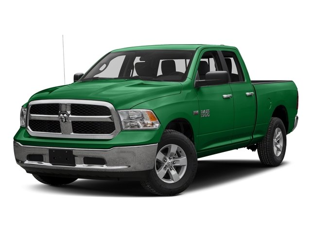 Bright Green 2016 Ram Truck 1500 Pictures 1500 Quad Cab SLT 4WD photos front view