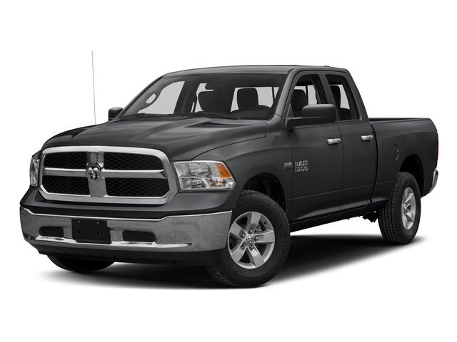Granite Crystal Metallic Clearcoat 2016 Ram Truck 1500 Pictures 1500 Quad Cab SLT 4WD photos front view