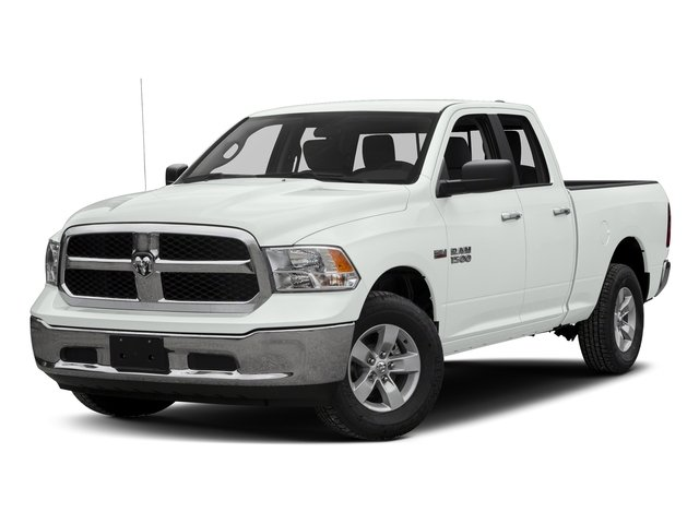 Bright White Clearcoat 2016 Ram Truck 1500 Pictures 1500 Quad Cab SLT 4WD photos front view