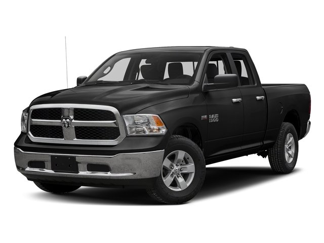 Brilliant Black Crystal Pearlcoat 2016 Ram Truck 1500 Pictures 1500 Quad Cab Express 2WD photos front view