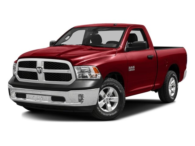 Bright Red 2016 Ram Truck 1500 Pictures 1500 Regular Cab SLT 2WD photos front view