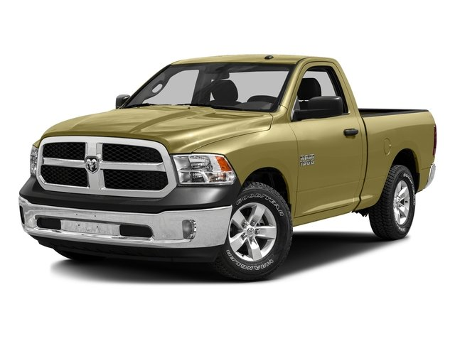 Light Cream 2016 Ram Truck 1500 Pictures 1500 Regular Cab SLT 2WD photos front view