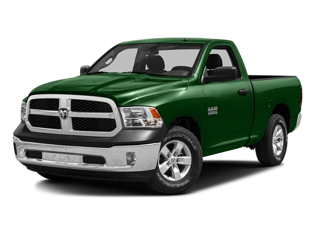 Tree Green 2016 Ram Truck 1500 Pictures 1500 Regular Cab SLT 2WD photos front view