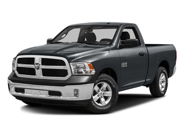 Maximum Steel Metallic Clearcoat 2016 Ram Truck 1500 Pictures 1500 Regular Cab SLT 4WD photos front view