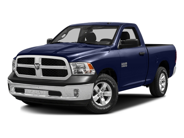 True Blue Pearlcoat 2016 Ram Truck 1500 Pictures 1500 Regular Cab SLT 4WD photos front view