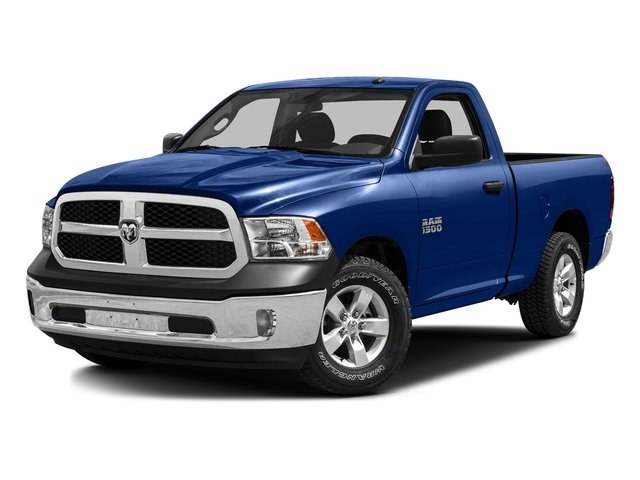 Blue Streak Pearlcoat 2016 Ram Truck 1500 Pictures 1500 Regular Cab SLT 2WD photos front view