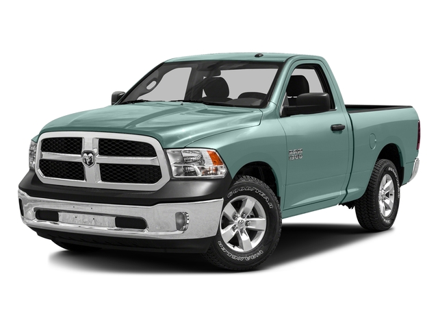 Light Green 2016 Ram Truck 1500 Pictures 1500 Regular Cab SLT 2WD photos front view