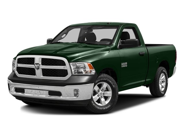 Timberline Green Pearlcoat 2016 Ram Truck 1500 Pictures 1500 Regular Cab SLT 2WD photos front view