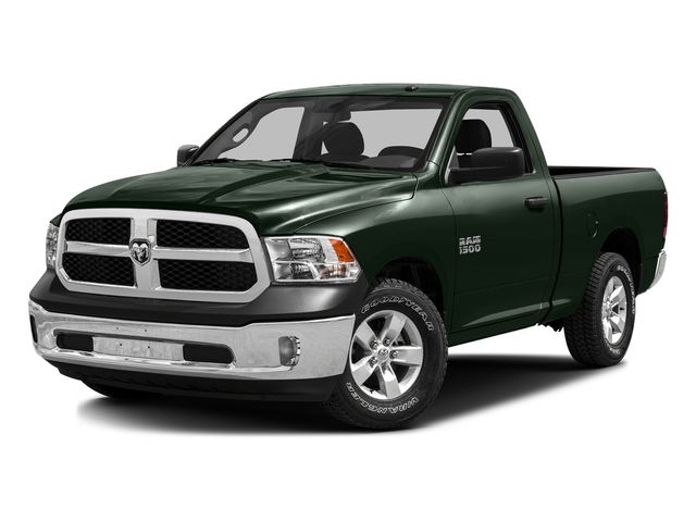 Black Forest Green Pearlcoat 2016 Ram Truck 1500 Pictures 1500 Regular Cab SLT 2WD photos front view