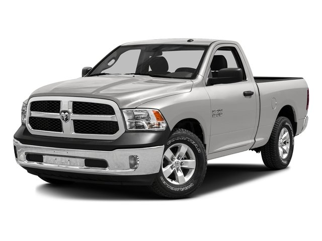 Bright Silver Metallic Clearcoat 2016 Ram Truck 1500 Pictures 1500 Regular Cab SLT 2WD photos front view