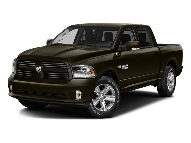 Dark Brown 2016 Ram Truck 1500 Pictures 1500 Crew Cab Express 2WD photos front view